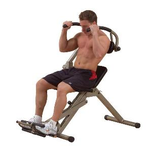 Body Solid Best Fitness Semi Recumbent Ab Bench