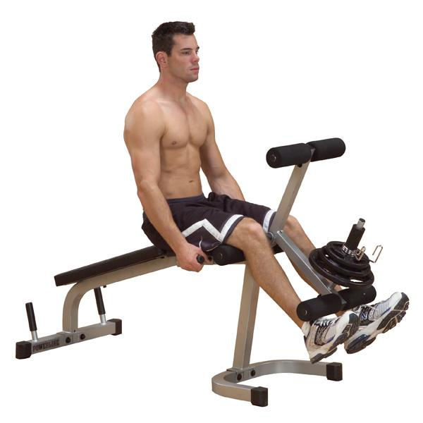 Body-Solid PowerLine Leg Extension / Leg Curl Machine