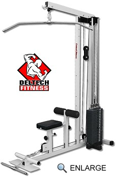 Lat Machine with #200 Stack