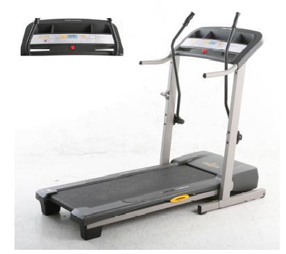 Proform treadmill assembly