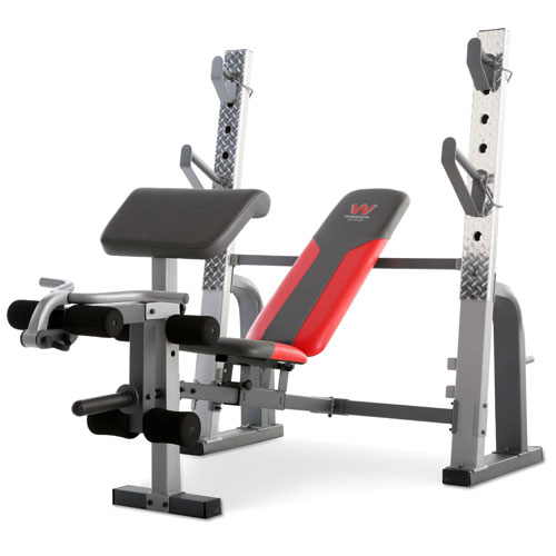 Weider Pro 9640 Weight Resistance Rate