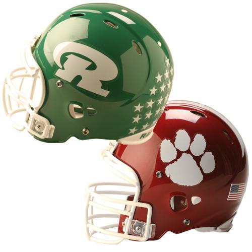 Football Helmet Sticker Designs : Color custom helmet decal