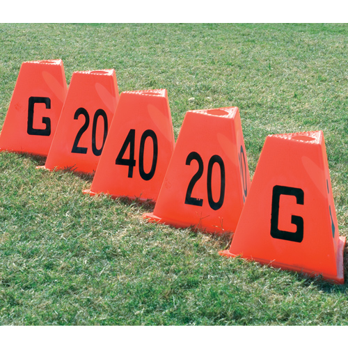 Poly Flag Football Sideline Markers
