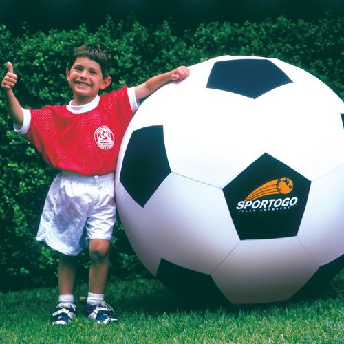 Balance Ball Kick: Sportogo Giant Soccer Ball