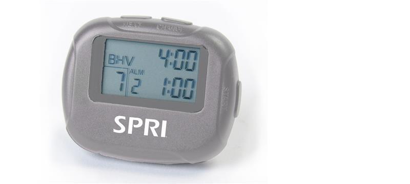 Interval timer handheld