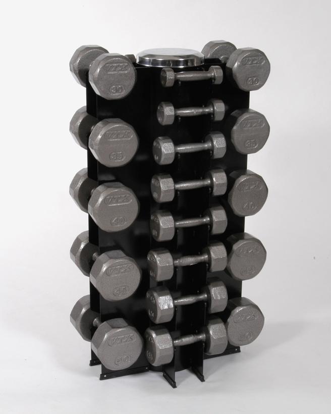 13 pair dumbbell package 350lb pairs with vertical rack sdv dumbbells plus gvdr13