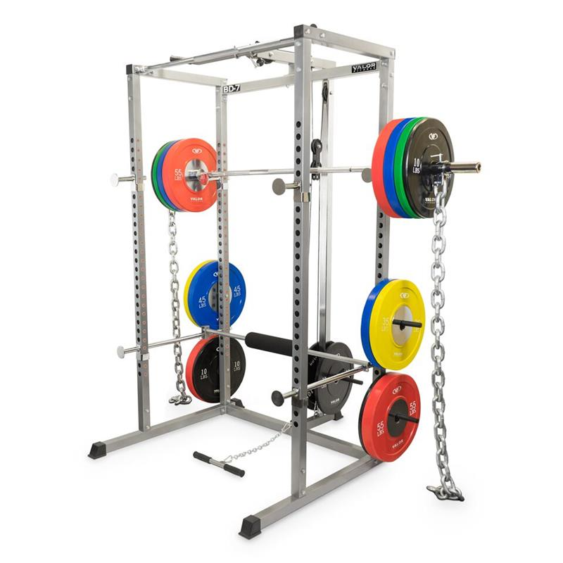 Valor Bd 7 Power Rack With Lat Pull