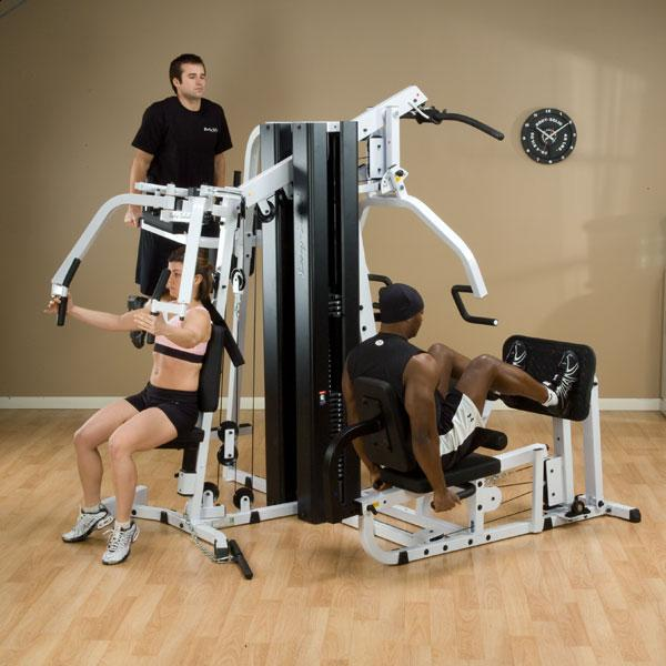 Body Solid Exm3000lps 2 Stack Gym Commercial Grade