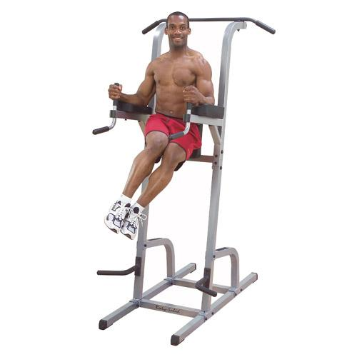 Push Pull Cables >> Body-Solid Vertical Knee Raise, Dip, Pull Up - Commercial ...