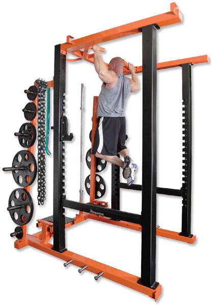 Magnum Fitness Mr47 Full Power Rack Commercial Grade