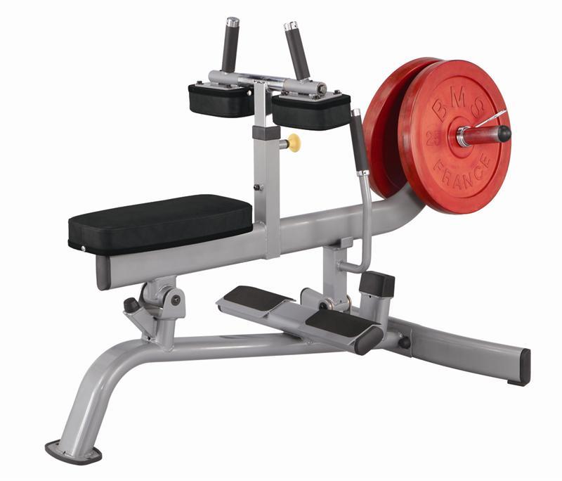 how to use seated calf raise machine