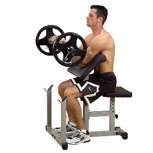 Body Solid Powerline Preacher Curl Weight Bench
