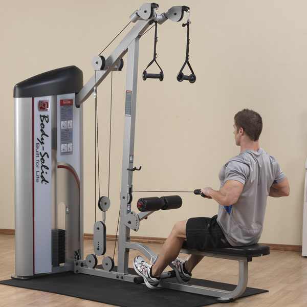 Body Solid Pro Clubline S2 Lat Pull Amp Seated Row Machine