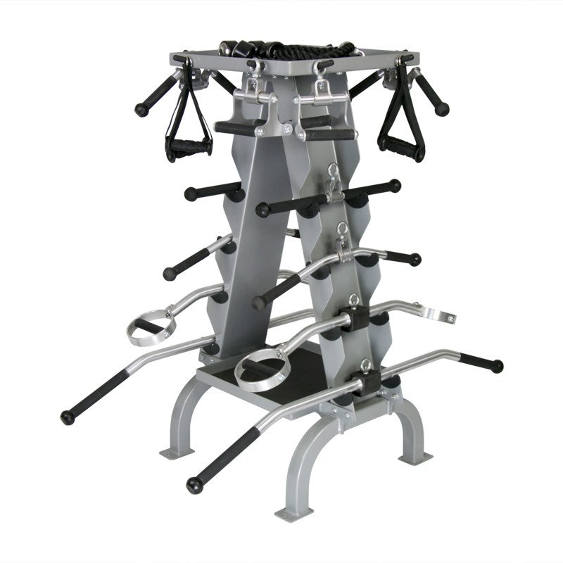 American Barbell Accessory Rack For Cable Attachments