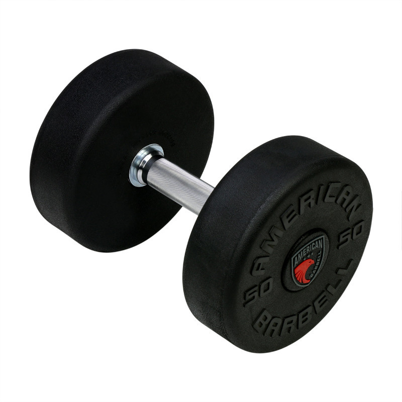 American Barbell Series 3 Rubber Dumbbells Made In The Usa