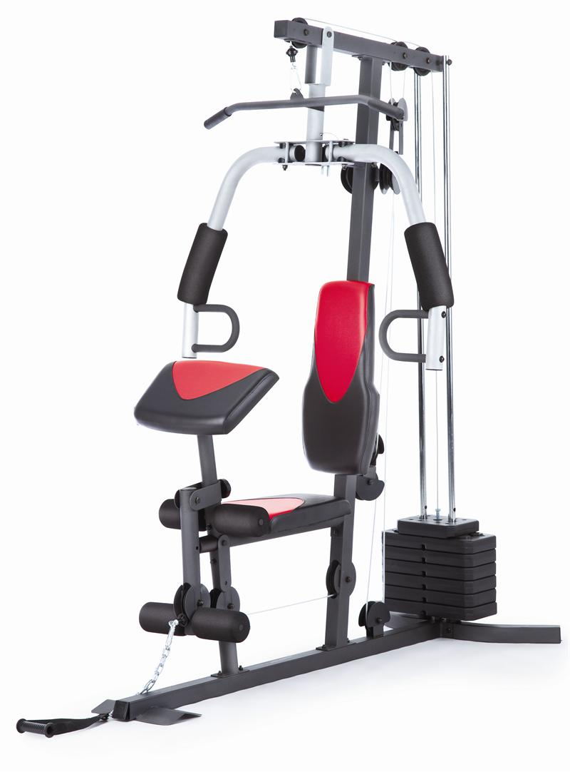 weider home gym pulley system