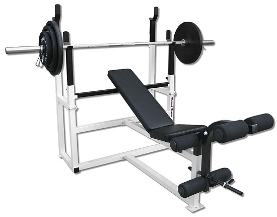 Deltech Olympic Squat Combo Weight Bench