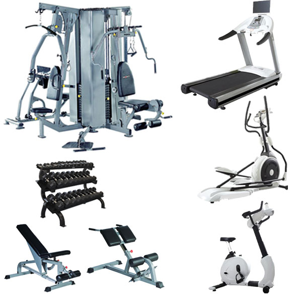 Gym equipment list of names