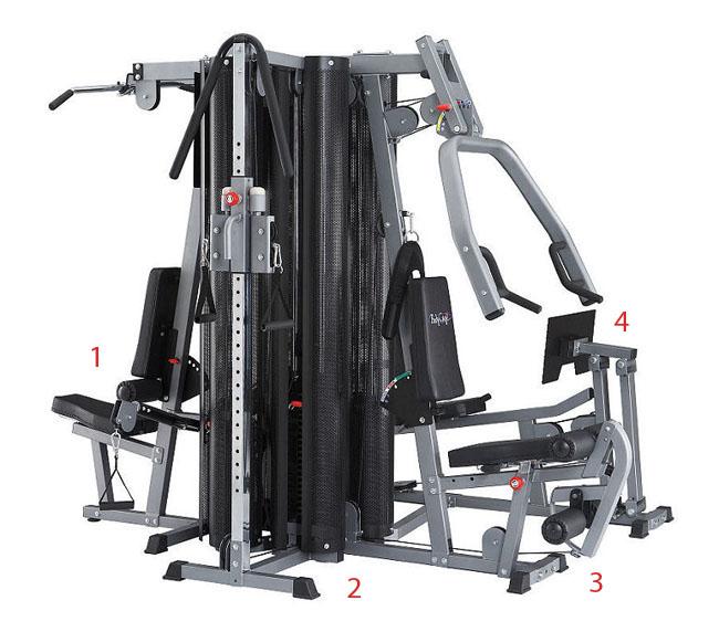 Bodycraft stack machine commercial grade