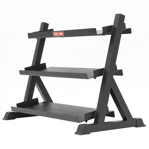 Dumbbell and Kettlebell Rack