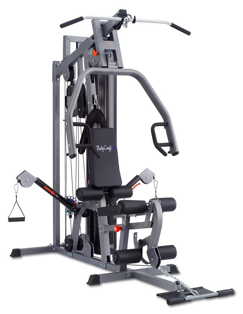 Bodycraft xpress pro home gym optional leg press