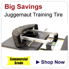 The Juggernaut Training Tire - Commercial Grade