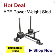APE Power Weight Sled - Commercial Grade