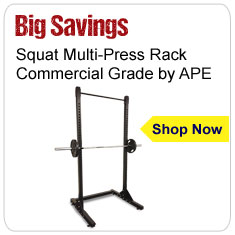 APE Squat Multi-Press Rack - Commercial Grade