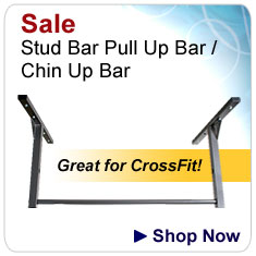 Stud Bar Pull Up Bar and Chin Up Bar