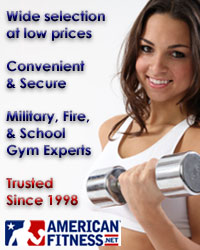 Why Shop - Wide selection at low prices, Convenient and secure, Military, fire, and school gym experts, Trusted since 1998.