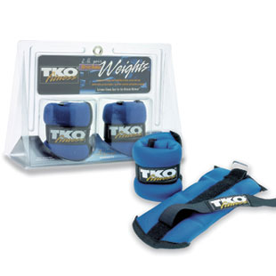 TKO Wrist/Ankle Weights 2 Lb Pari