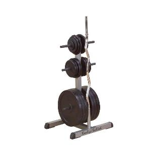 Body-Solid STANDARD PLATE TREE AND BAR HOLDER