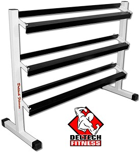 "54"" Three Tier Dumbbell Rack"