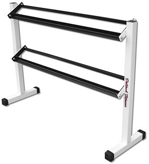 Two-Tier Dumbbell Rack