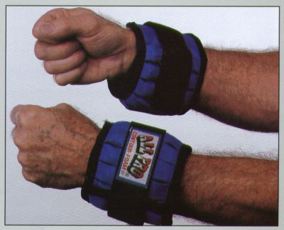 All Pro Adjustable Wrist Weights 4 Lb Pair