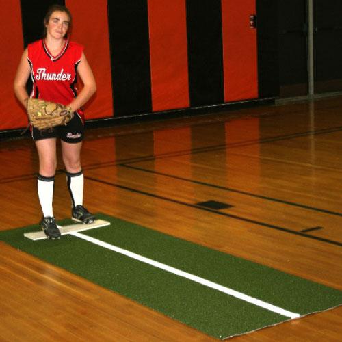 Jennie Finch Pitching Mat W Power Line