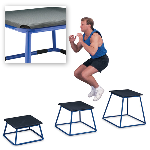 4 Piece Plyometric Box Set