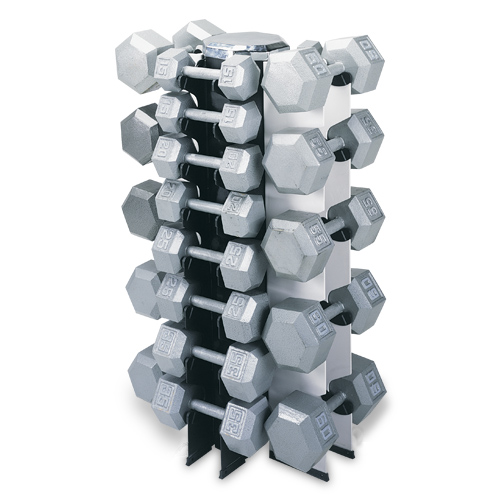 4 Sided Vertical Dumbell Rack
