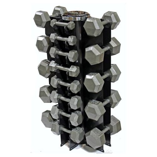 13 Pair Solid Hex Dumbbell Package