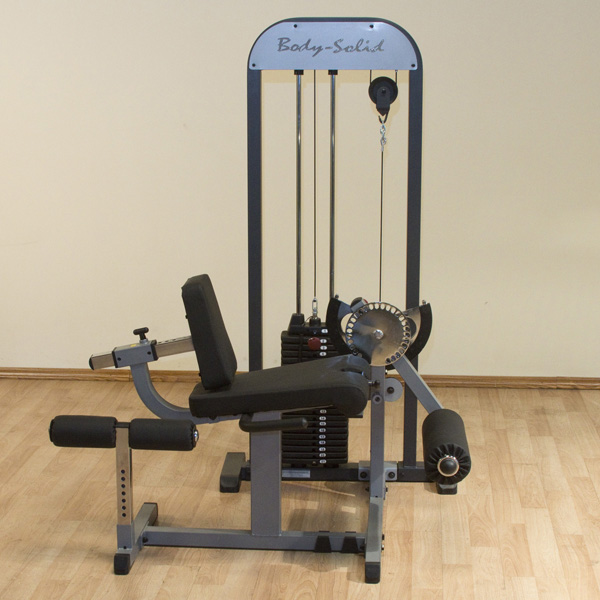 Body-Solid Selectorized Leg Extension and Leg Curl Machine