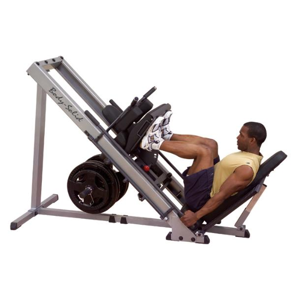 Home Exercise Equipment For Legs: Body-Solid Leg Press & Hack Squat