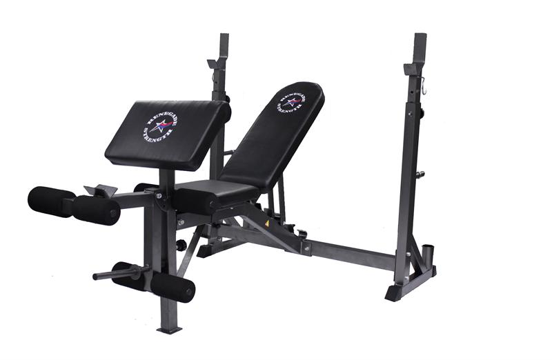 USA Sports Renegade Adjustable Wide Width Bench