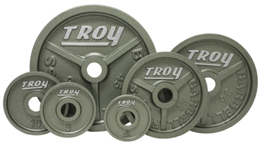Troy Barbell Premium Olympic Weight Plate Set