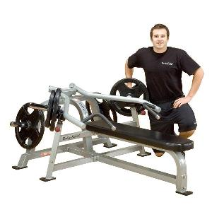 Body-Solid Leverage Bench Press Weight Bench