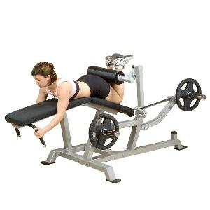Body-Solid Leverage Leg Curl Machine