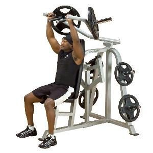 Body-Solid Leverage Shoulder Press Weight Bench