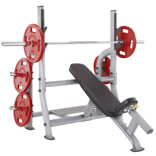Xtreme Fitness Equipment Newton: Steelflex Incline Olympic Weight Bench