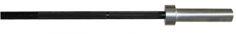 10KG Black Zinc Olympic Bar