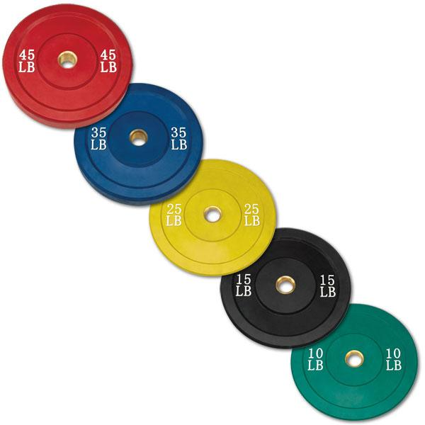Body-Solid Bumper Plates - Color  sc 1 st  American Fitness & Body-Solid Color Rubber Olympic Bumper Plates