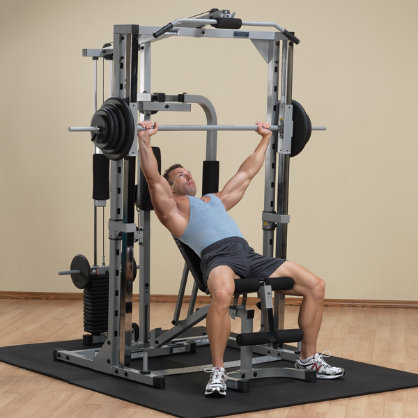 Body-Solid Powerline Smith Machine System